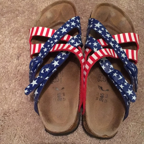 Birkenstock Shoes | Red White And Blue